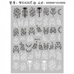 STICKER UNGHII - WG426