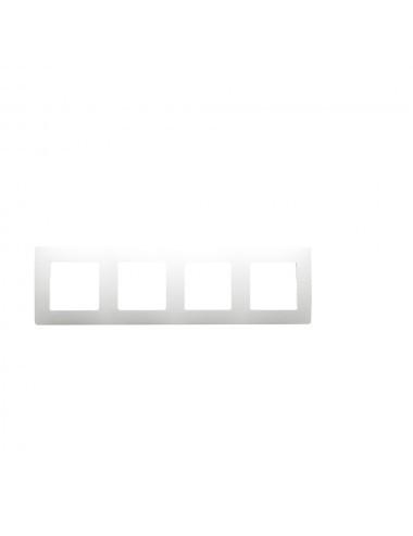 Sorolókeret 4 modul, IP20, fehér, Legrand Niloe