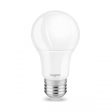 Bec led 10W(60W), dulie E27, forma A60, lumina naturala(4200 K), Braytron