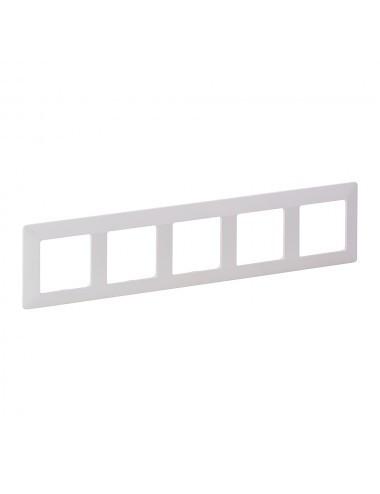 Sorolókeret 5 modul, IP20, fehér, Legrand Valena Life