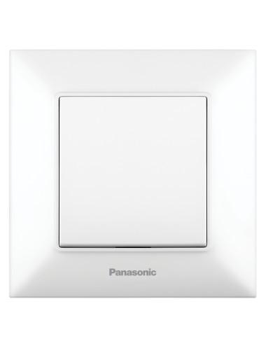 Egypólusú kapcsoló 10A, IP20, fehér, Panasonic Arkedia Slim