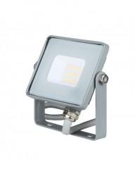 10W-os LED projektor, Samsung chip, 800 lm, hideg fény, szürke, V-TAC