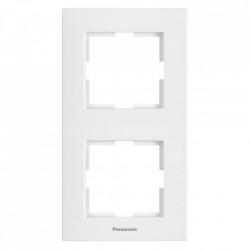 2-es függőleges sorolókeret, Karre Plus Pansonic, fehér