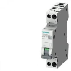 Automatikus kismegszakító P+N, 10A, C kioldási jelleggörbék , megszakító-képesség 6kA, Siemens