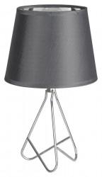 Blanka asztali lámpa, E14 foglalat (max. 40W), szürke, Rabalux
