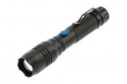 Lanterna LED 8W, 800 lm, baterie 2000 mAh inclusa, lumina rece(6400 K), IP20, GTV