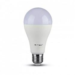 LED izzó 17W (100W), E27, 1521 lm, A +, meleg fény, V-TAC