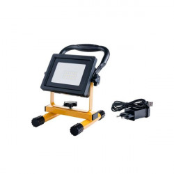 LED projektor 20W-os akkumulátorral, 1200 lm, hideg fény, Optika
