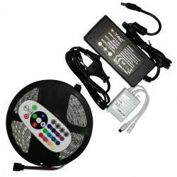 LED szalagkészlet RGB 5050 IP65 5 méter