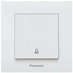 Nyomókapcsoló Karre Plus Panasonic, ST, fehér