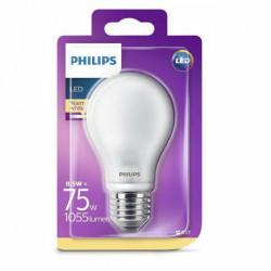 Bec LED Philips, E27, 8.5W(75W), 1055 lm, A++, lumina calda(2700 K)