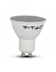 Intelligens V-TAC izzó, 4,5 W, GU10, RGB + 2700K / 4000K / 6400K kompatibilis az Amazon Alexa és a Google Home szolgáltatással