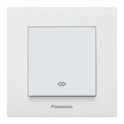Kersztkapcsoló Karre Plus Panasonic, ST, fehér