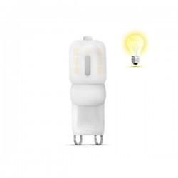 LED izzó 2,5W G9 360 fokos 220V, Braytron, meleg fény
