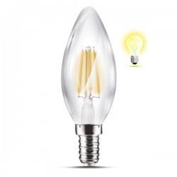 LED izzó gyertya izzószál 4W E14 3000K, Braytron