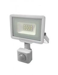 LED projektor 10W érzékelővel, 800 lm, hideg fény, fehér, Optonica
