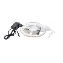 LED szalag készlet 5050 IP20 RGBW + hideg fehér 60 LED / méter 5 méter + tápegység + bluetooth vezérlő