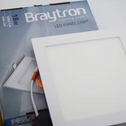 Spotlámpa LED 18W Square 3000K, süllyesztett, Braytron