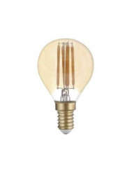 Vintage led izzó E14, 4W (27W), 400 lm, meleg fény, A, Optonica