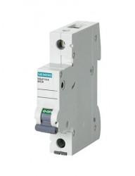 Automatikus kismegszakító 1P, 16A, B kioldási jelleggörbé, megszakító-képesség 6kA, Siemens