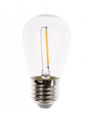 Bec led filament E27 1,5W(15W), lumina calda, Lumiled