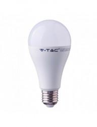 E27 led izzó, 15W (90W), természetes fehér fény, 4000K, 1350 lm, A +, V-TAC