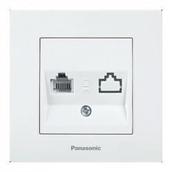 Egyszerű számítógép aljzat, cat 5E, Karre Plus Pansonic, ST, stb