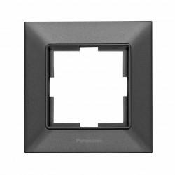 Egyszerű vízszintes keret IP20, grafit, Panasonic Arkedia Slim