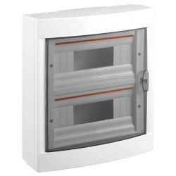 Falon kívüli elosztó doboz 24 modul, 2 szerelősor PT Viko