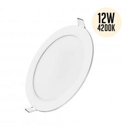 Spotlámpa LED 12W-os kerek 4200K, süllyesztett, Braytron