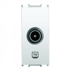 TV aljzat 1 modul Thea Modular Panasonic, fehér