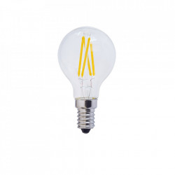Vintage LED izzó, E14, 4W (32W), meleg fehér fény, 400 lm, A ++, Optonica