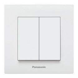 Csillárkapcsoló kapcsoló Karre Plus Panasonic, ST, fehér
