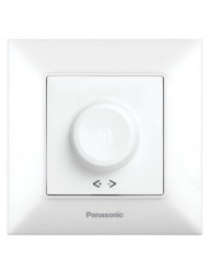 Ffényerő-szabályozó LED-hez, 20-500W, IP20, fehér, Panasonic Arkedia Slim