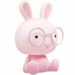 Krolik 2,5 W-os LED díszlámpa, rózsaszín, max 70lm, Polux