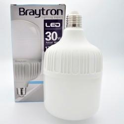 LED izzó 30W T100 E27, Braytron, hideg fény