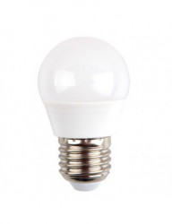 LED izzó, E27 gömb alakú, P45, 5,5 W (40 W), 470lm, A +, meleg fény, V-TAC