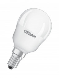 RGB LED izzó, Osram P45, távirányítóval, E14, 4,5 W (25 W), 250 lm