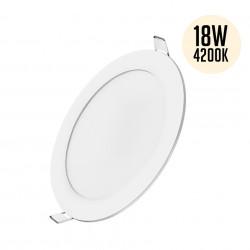 Spotlámpa LED 18W-os, 4200K-os kerek, süllyesztett, Braytron