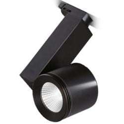 Spotlámpa LED. sínen 30W 3000K, fekete, Braytron