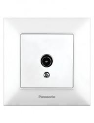 Vége TV aljzat, IP20, fehér, Panasonic Arkedia Slim