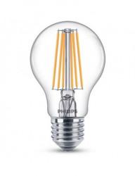 Vintage LED izzó, E27, 7W (60W), meleg fény, 806 lm, A +, Philips
