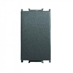Alternativ kapcsoló , Thea Modular Panasonic, 1 modulos, fekete