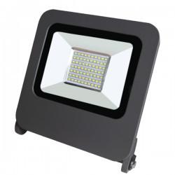 LED projektor 50W SMD IP65 6400K, szürke, Braytron
