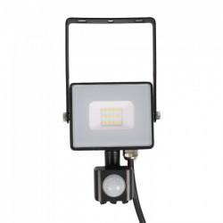 LED reflektor 10W chip érzékelővel Samsung 6400K hideg fény