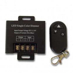 LED szalag dimmer 12-24V 20A távirányítóval