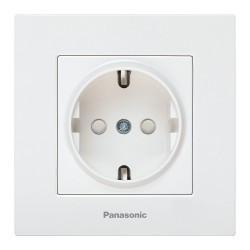 Simpla aljzat földeléssel és gyermekvédelemmel Karre Plus Pansonic, ST, fehér