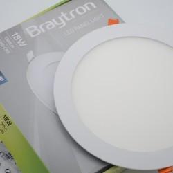 Spotlámpa LED 18W-os kerek 6400K, süllyesztett, Braytron