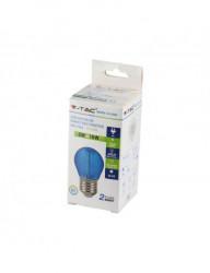 Vintage LED izzó 2W (10W), kék, 60 lm, V-TAC