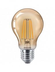 Vintage led izzó, E27, 4W (35W), meleg fény, A, Philips